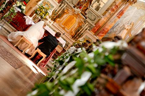 Trauringe-Goldschmiede.com Trauringe bei der kirchlichen Hochzeit austauschen
