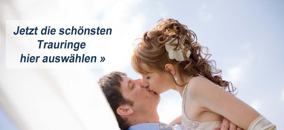 Hochzeitsringe im Trauringe Onlineshop Trauringe-Goldschmiede.com