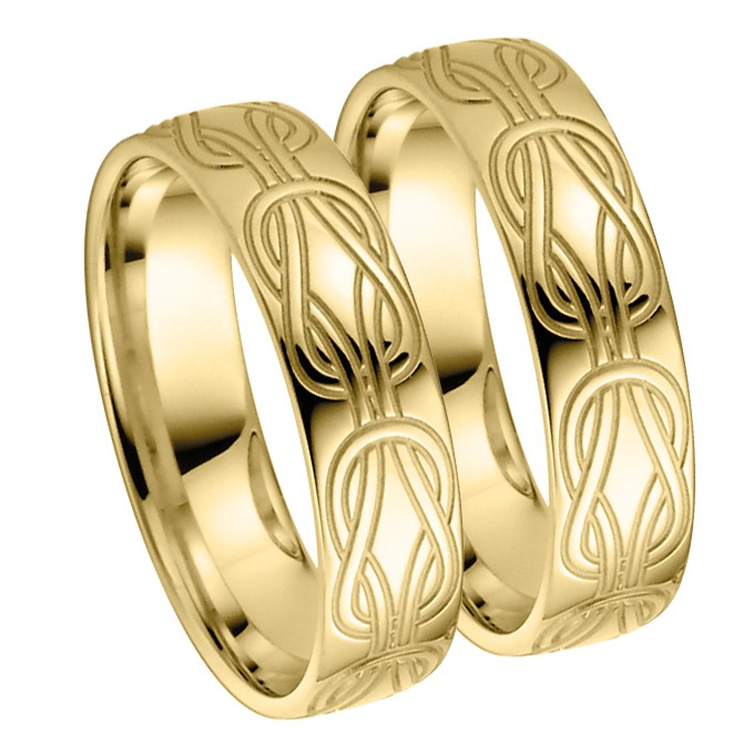 Ringpaar Artemis Heart