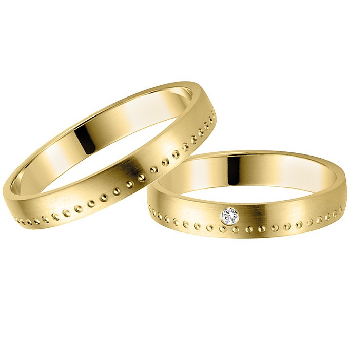 Ringpaar Diones Heart