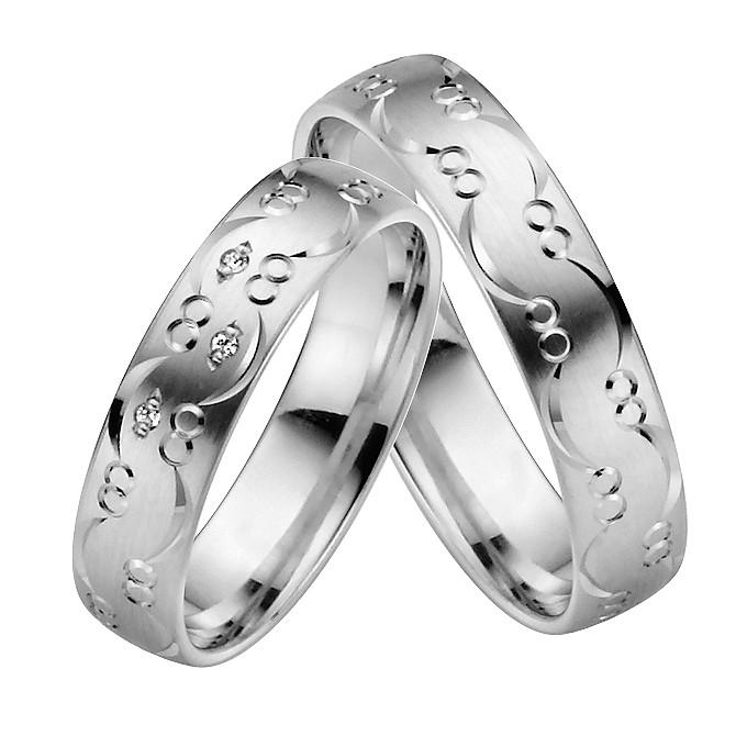 Ringpaar Feronias Heart