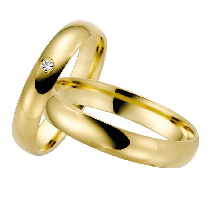 Ringpaar Heras Heart