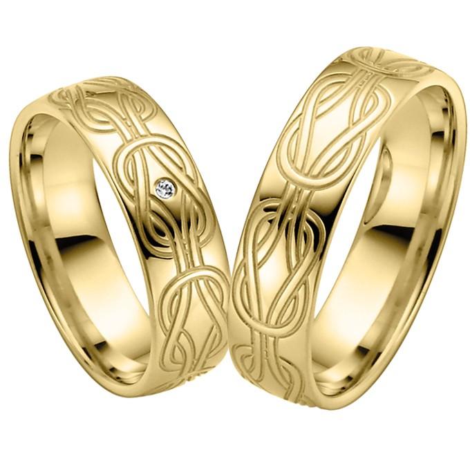 Ringpaar Heras Knot