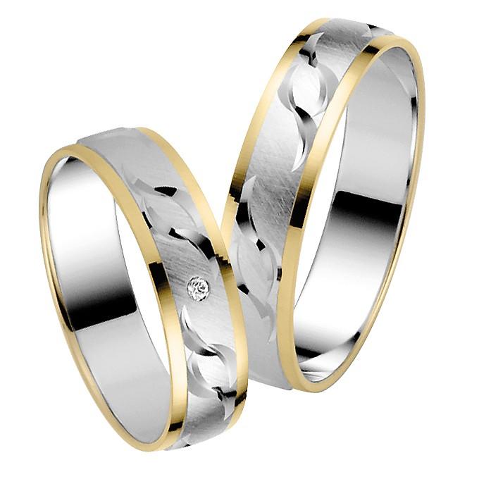 Ringpaar Idunas Heart