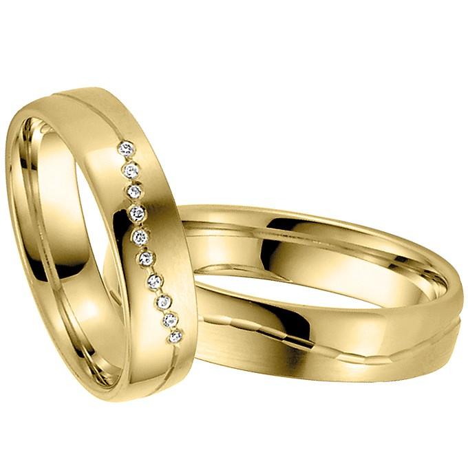 Ringpaar Larentias Delight