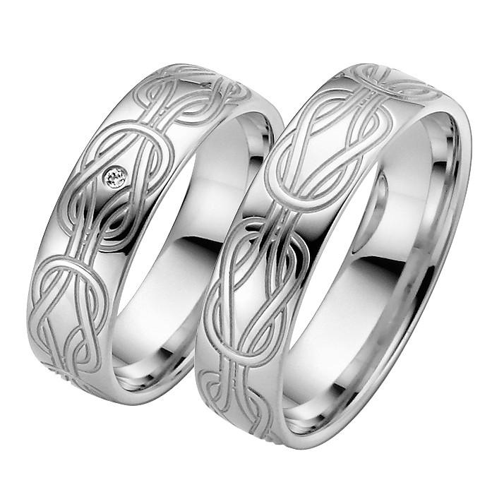 Ringpaar Minervas Knot