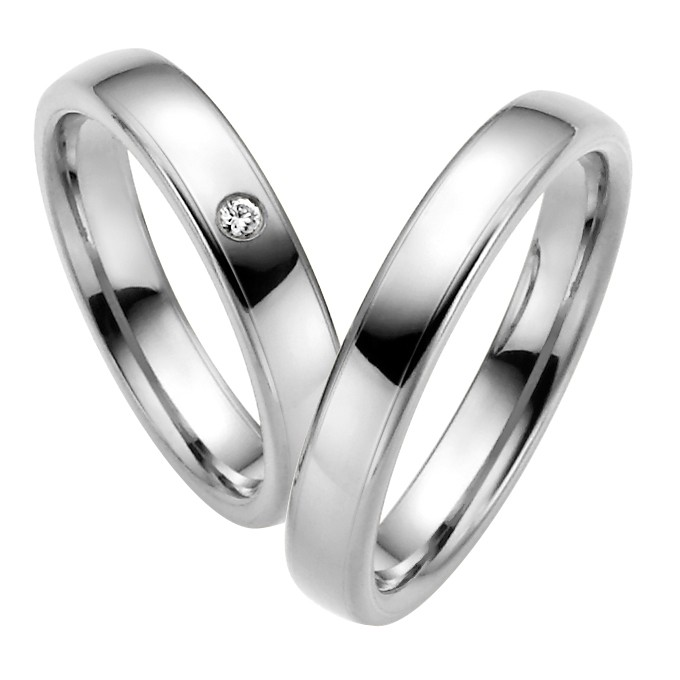 Ringpaar Perennas Heart